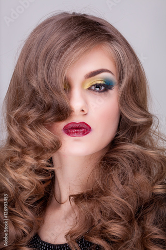 Plakát Beauty portrait of gourgeous woman with professional make up