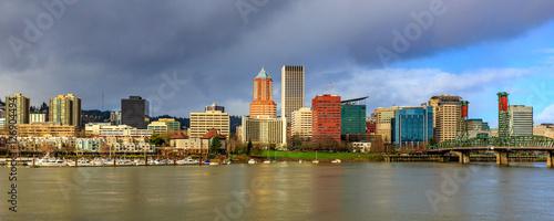Fototapeta Portland Downtown Skyline