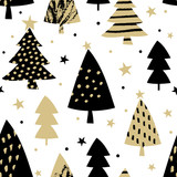 Seamless Christmas Pattern - 126905651