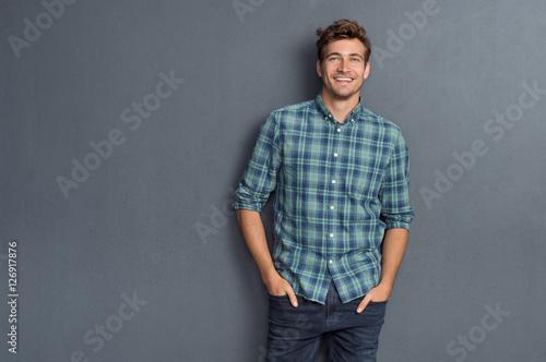 Pride man smiling