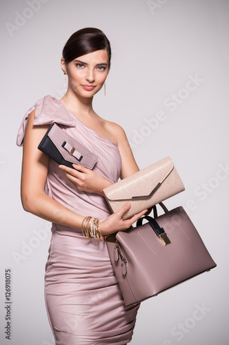 Poster Fashion shopping purses