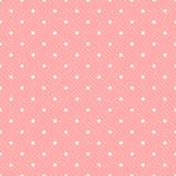 Seamless polka dot with diagonal lines pattern vector