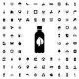bio bottle icon illustration