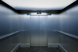 Interior view of a modern elevator - 126940241