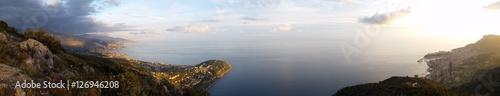 Vue Panoramique Extra Large de la mer méditerranée