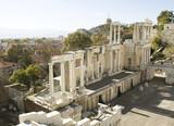 Ancient theatre in Plovdiv, Bulgaria