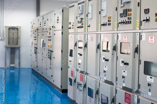 Poster Electrical control cabinet
