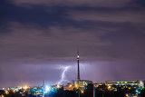 Fototapety Thunder and Lightning in Johannesburg South Africa