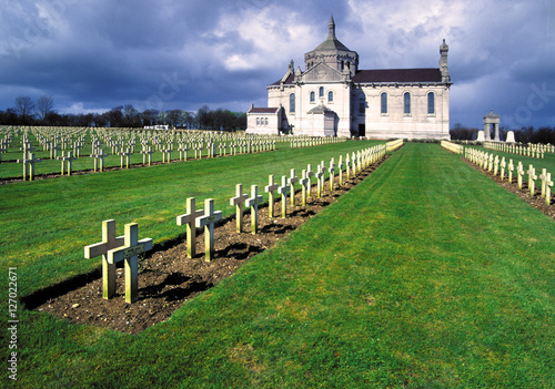 1st world war cemetery northern france Poster