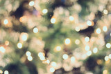 Fototapety christmas bokeh light background