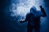 Faust Hand Nebel Schläger - 127044847