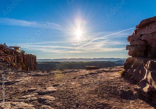 Poster Sol no Grand Canyon