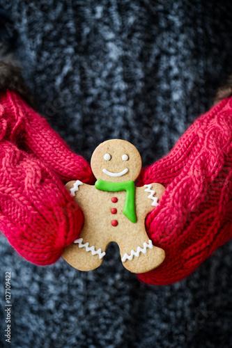 Poster Gingerbread man