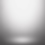 Fototapety Abstract gradient gray, used as background for display your products - Vector