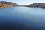 Crossing the Delaware River between Lambertville, New Jersey, and New Hope, Pennsylvania - 127130820
