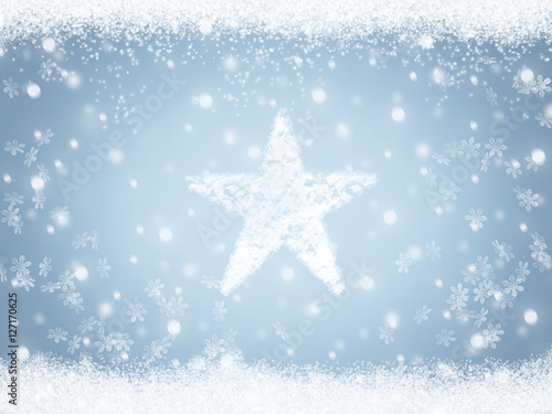 foto auf acrylglas abstract cold winter background with snow nikkel. Black Bedroom Furniture Sets. Home Design Ideas