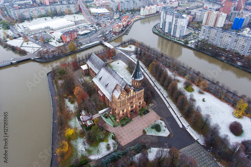 Papiers peints Cappuccino Cathedral from above