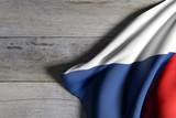 Czech Republic flag waving