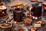 Hot wine for winter - 127215475