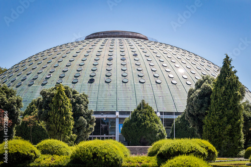 Staande foto UFO Palácio de Cristal à Porto palacio