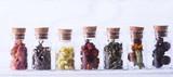 Fototapety Herbs in bottles