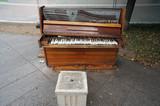 Пианино на улице