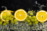 Oranges, Water And Ice