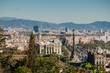 Aussicht auf die Altstadt von Barcelona