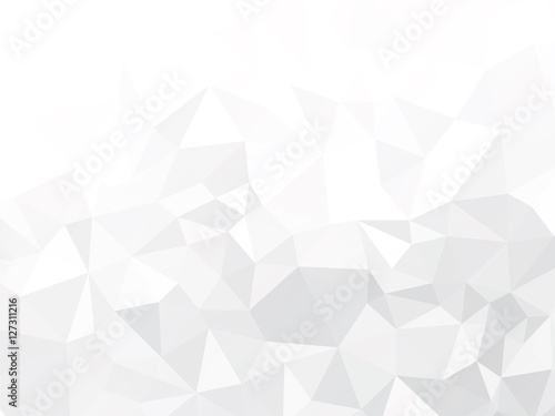 Plakat gray paper geometric background