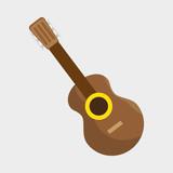 guitar instrument brazil music vector illustration eps 10