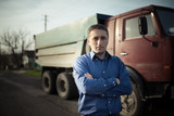 Fototapety portrait of driver