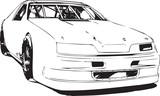 Chevrolet style stock car