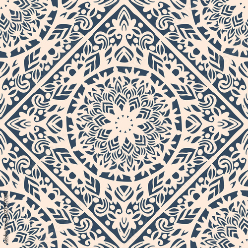 Cotton fabric Seamless pattern