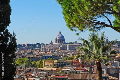 Papiers peints Rome Roma, panorama dal Pincio