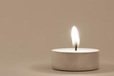 Vintage Tea Light with Copyspace - 127381641