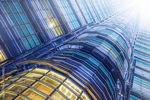 Poster Skyscraper in Kuala Lumpur