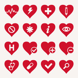 Medical Heart Icons