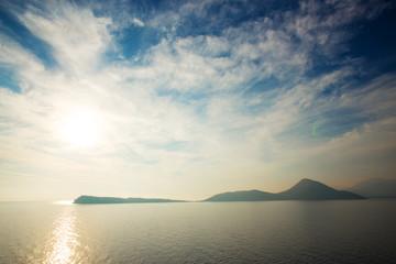 Fototapeta piękny widok na morze