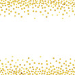 Cotton fabric gold dot2-1