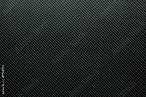 Dark carbon fiber background Poster