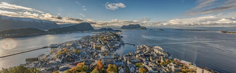 Fototapeta norweska panorama