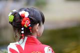 Girl in kimono - 127451685