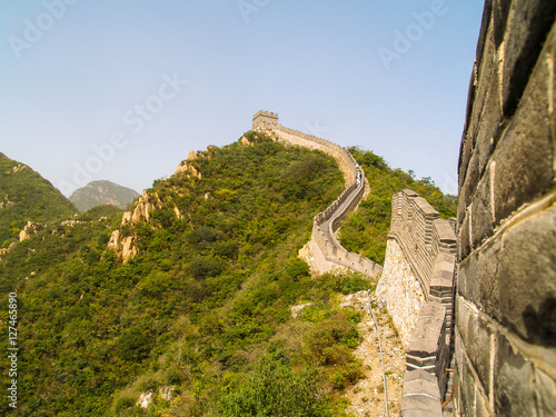 Poster Great Wall of China near Beijing