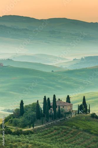 Deurstickers Toscane Tuscany, Italy. Landscape