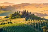 Toskania, Włochy. Krajobraz