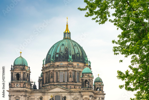 Traditional view of Berliner Dom in Berlin