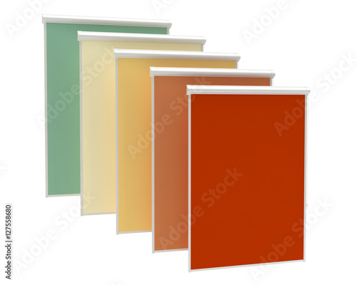 Window rollers blind - color palette - 127558680