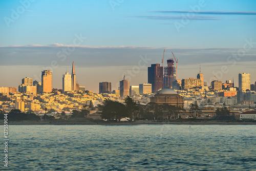 Poster Oceanië Downtoen of San Francisco