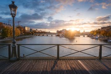 Le pont des Arts/ Île de la cité
