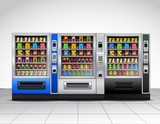 Realistic Vending Machines Front View